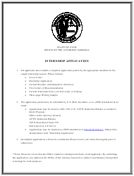 Internship Application Form - Utah