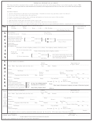 Personal Report of Accident Form - Kennesaw State University