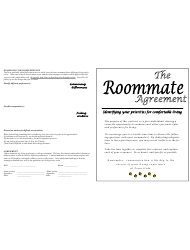 Roommate Agreement Template - Pennsylvania