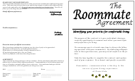 """Roommate Agreement Template"" - Pennsylvania"