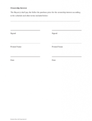 """Sample Buy-Sell Agreement Template"", Page 11"