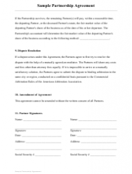 """Sample Buy-Sell Agreement Template"", Page 14"