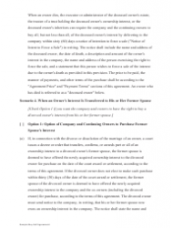 """Sample Buy-Sell Agreement Template"", Page 6"