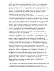 """""""Stockholder Buy-Sell Agreement Template"""", Page 2"""