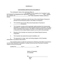 """Security Agreement (Form Public Deposit)"" - Connecticut, Page 11"