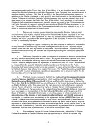 """Security Agreement (Form Public Deposit)"" - Connecticut, Page 2"