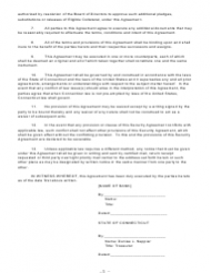 """Security Agreement (Form Public Deposit)"" - Connecticut, Page 3"