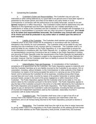 """Security Agreement (Form Public Deposit)"" - Connecticut, Page 6"