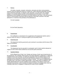 """Security Agreement (Form Public Deposit)"" - Connecticut, Page 8"