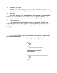 """Security Agreement (Form Public Deposit)"" - Connecticut, Page 9"
