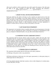 """Cohabitation Agreement Form"" - City of Columbus, Ohio, Page 4"