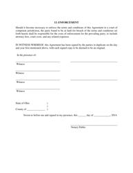 """Cohabitation Agreement Form"" - City of Columbus, Ohio, Page 6"