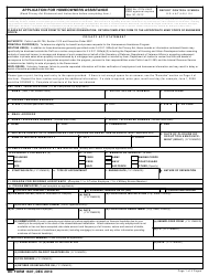 DD Form 1607 Application for Homeowners Assistance, Page 2