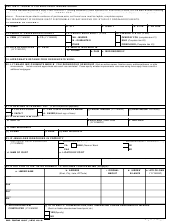 DD Form 1607 Application for Homeowners Assistance, Page 3