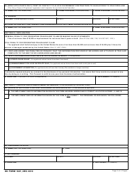 DD Form 1607 Application for Homeowners Assistance, Page 4