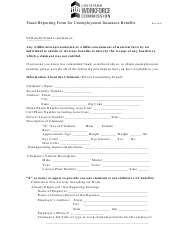 """""""Fraud Reporting Form for Unemployment Insurance Benefits"""" - Louisiana"""