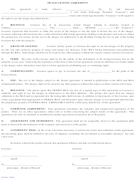 """Image License Agreement Form - Southland Regional Association of Realtors"""