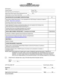 Labor Standards Compliance Form