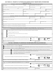 Form 1010 Request of Authorization/Carrier or Self Insured Employer Response