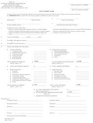 """Form LWC-WC-1003 """"Stop Payment Form"""" - Louisiana"""