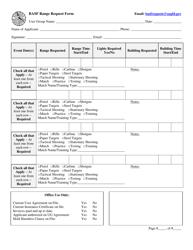 """Basf Range Request Form"" - Arizona"