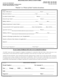 Form 102 Registration Application Form - COUNTY OF RIVERSIDE, California