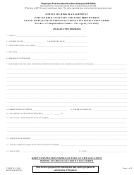 """State Employee Incident/Accident Investigation Form - University of Louisiana"""