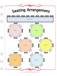 """Wedding Seating Arrangement Template"""