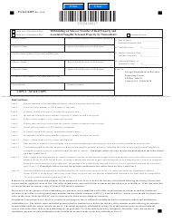 "Form G2-RP ""Withholding on Sales or Transfer of Real Property and Associated Tangible Personal Property by Nonresidents"" - Georgia (United States)"