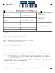 Form g2-rp Withholding on Sales or Transfer of Real Property and Associated Tangible Personal Property by Nonresidents - Georgia