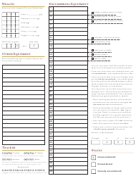 5e Inventory Tracking Sheet