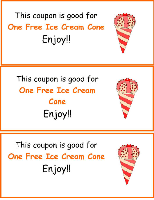 coupon template download free