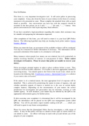 """Fraud Report Form"" - Queensland, Australia, Page 2"