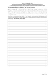 """Fraud Report Form"" - Queensland, Australia, Page 4"