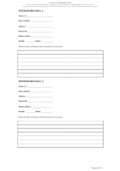 """Fraud Report Form"" - Queensland, Australia, Page 6"