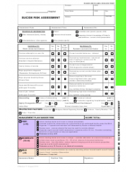 """""""Suicide Risk Assessment Form - Wa Country Health Service (Wachs)"""""""