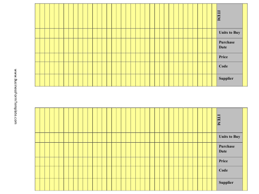 """""""Yellow Inventory Spreadsheet Templates"""" Download Pdf"""