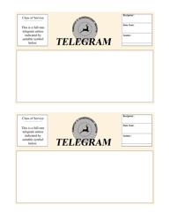 Telegram Template