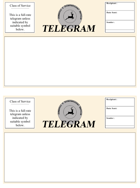 """Telegram Template"" Download Pdf"