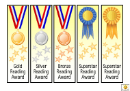 """Reading Award Templates"""