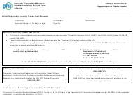 """Form STD-23 """"Sexually Transmitted Diseases Confidential Case Report Form"""" - Connecticut"""