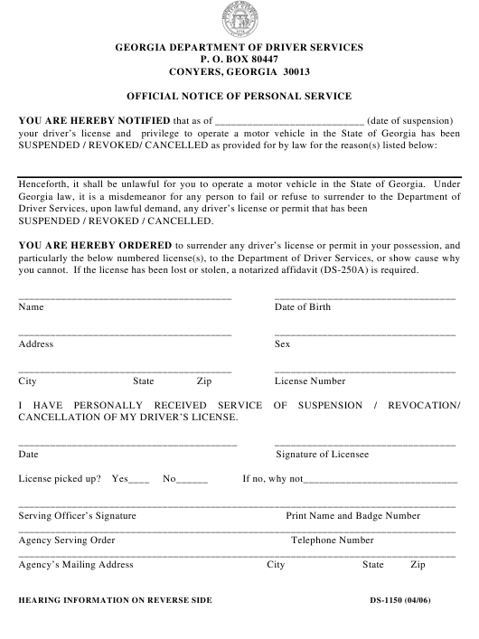 Georgia Legal Forms Pdf Templates Download Fill And Print For Free - Legal forms download