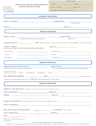 """Hospice Reporting Form - Puerto Rico Central Cancer Registry"""