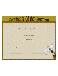 Hunting Certificate Of Achievement Template