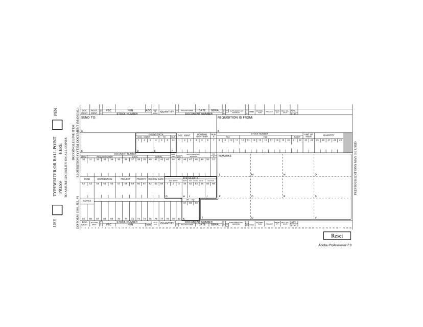 DD Form 1348 Fillable Pdf