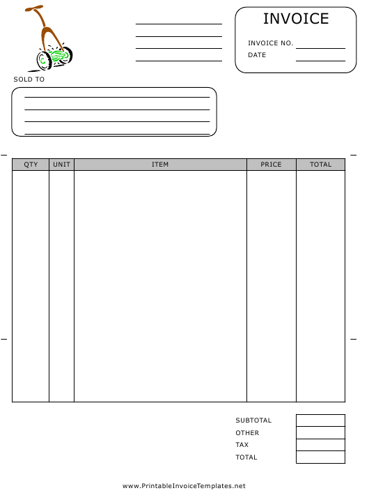 """Contractor Invoice Template"" Download Pdf"