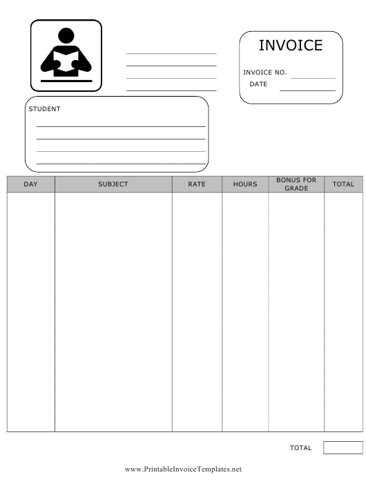 """Invoice Template"" Download Pdf"