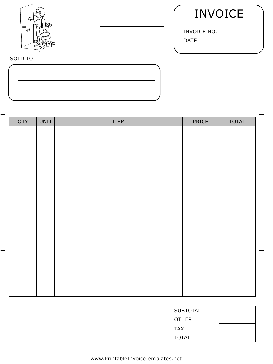 Maid Service Invoice Template Download Printable Pdf Templateroller