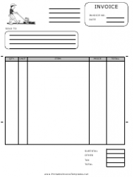 Lawn Services Invoice Template