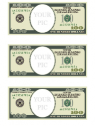 One Hundred Dollar Bill Template Back Download Printable Pdf